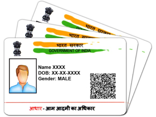 What are Valid Proof that can be used to aadhar card update ?