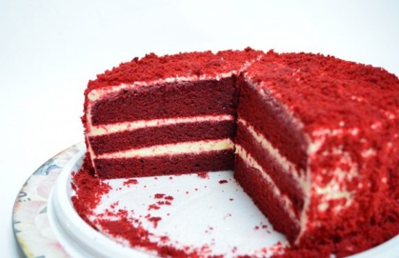 Red Velvet Cake Recipe in Easy Steps.